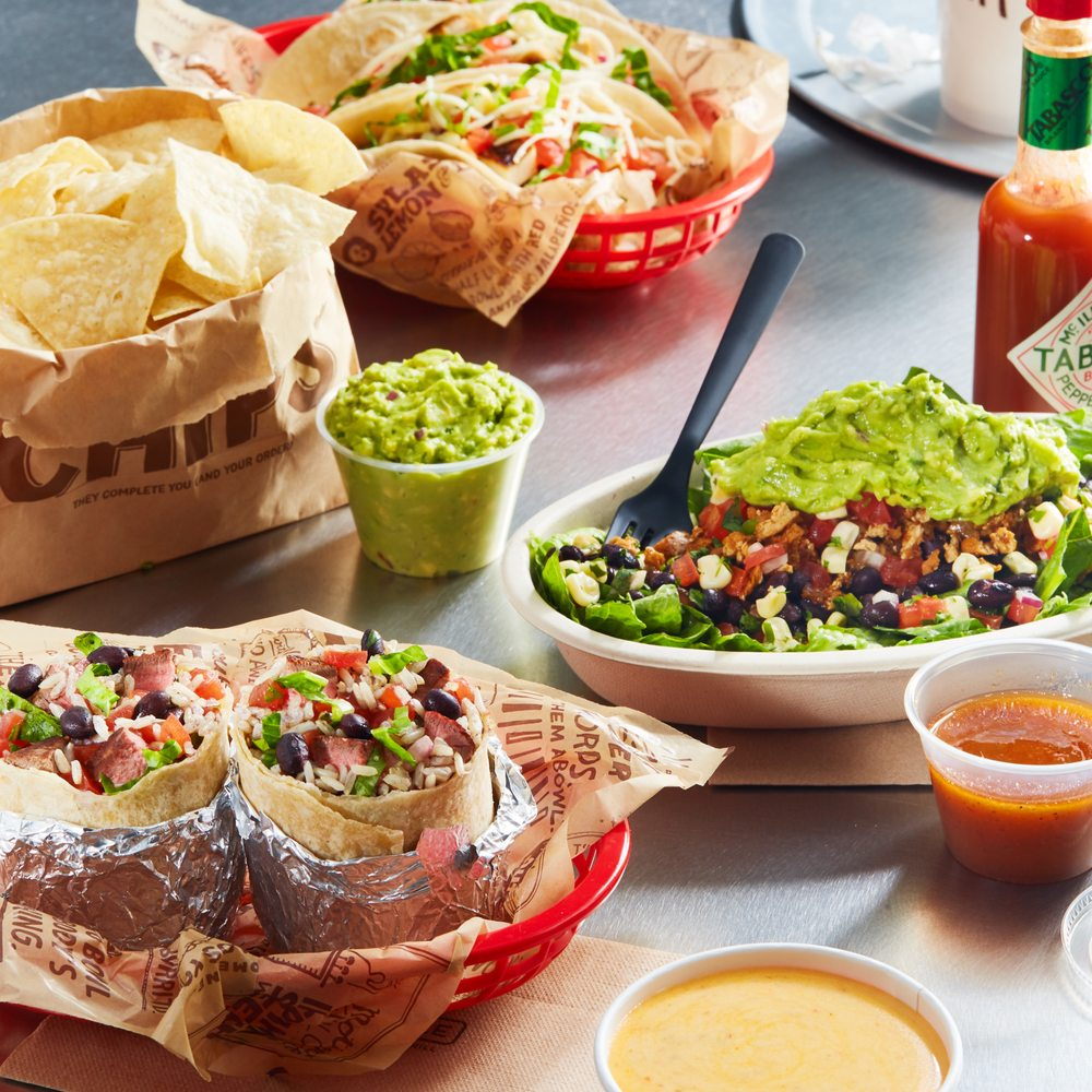 Chipotle Mexican Grill: 1207 N Keller Dr, Effingham, IL