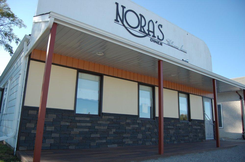 Nora's Diner: 7th Street, Gretna, MB