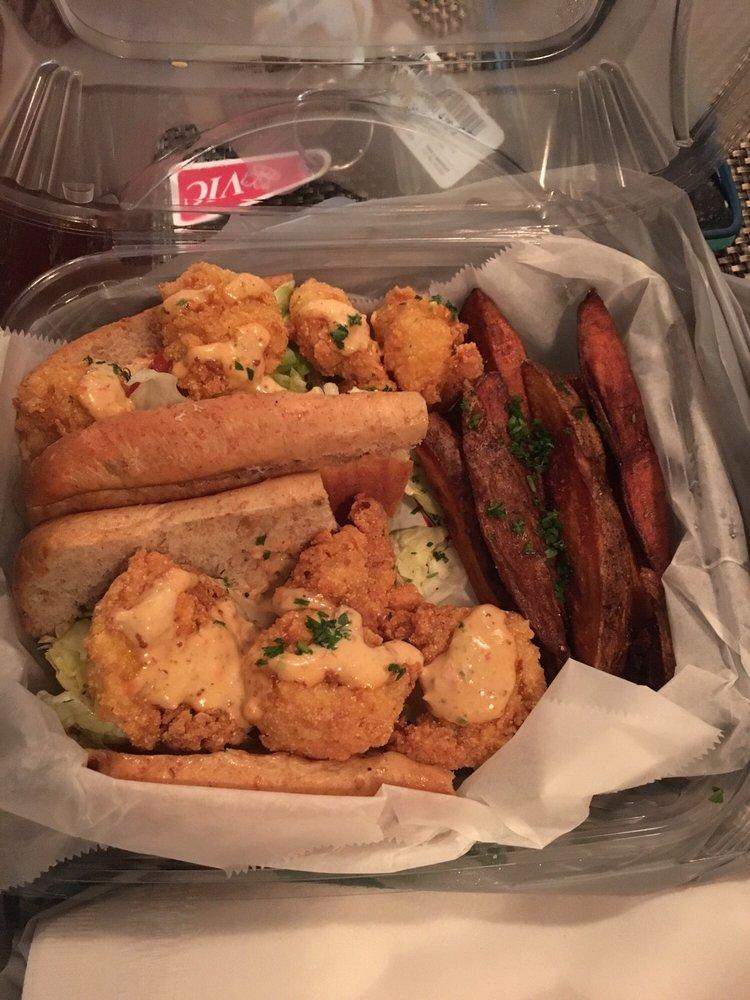 Shrimp po boy yelp for Fish market charlotte nc