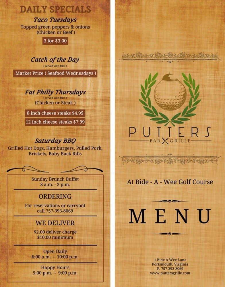 Putter's Bar & Grille: 1 Bide-A-Wee Dr, Portsmouth, VA