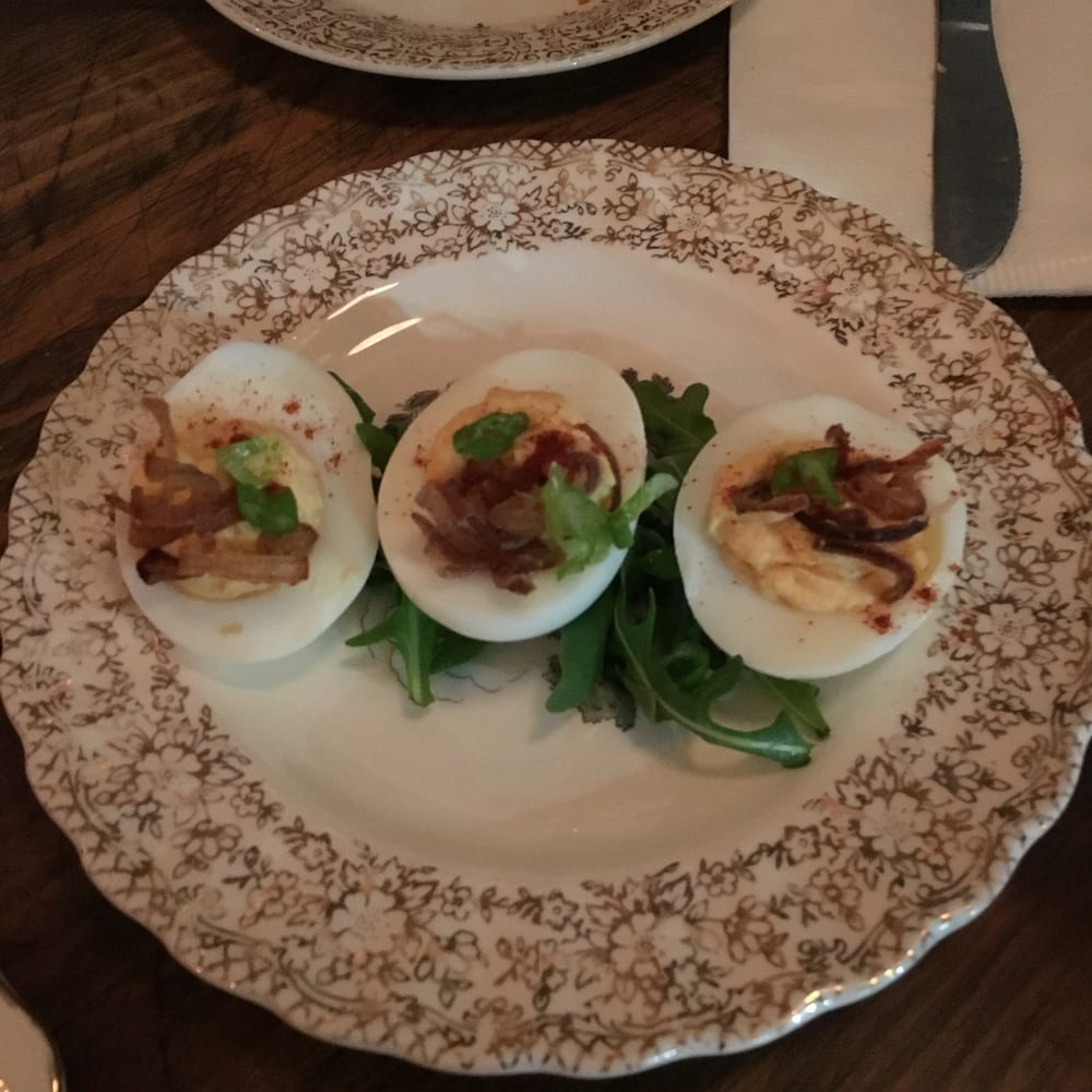 Deviled eggs. Great! - Yelp