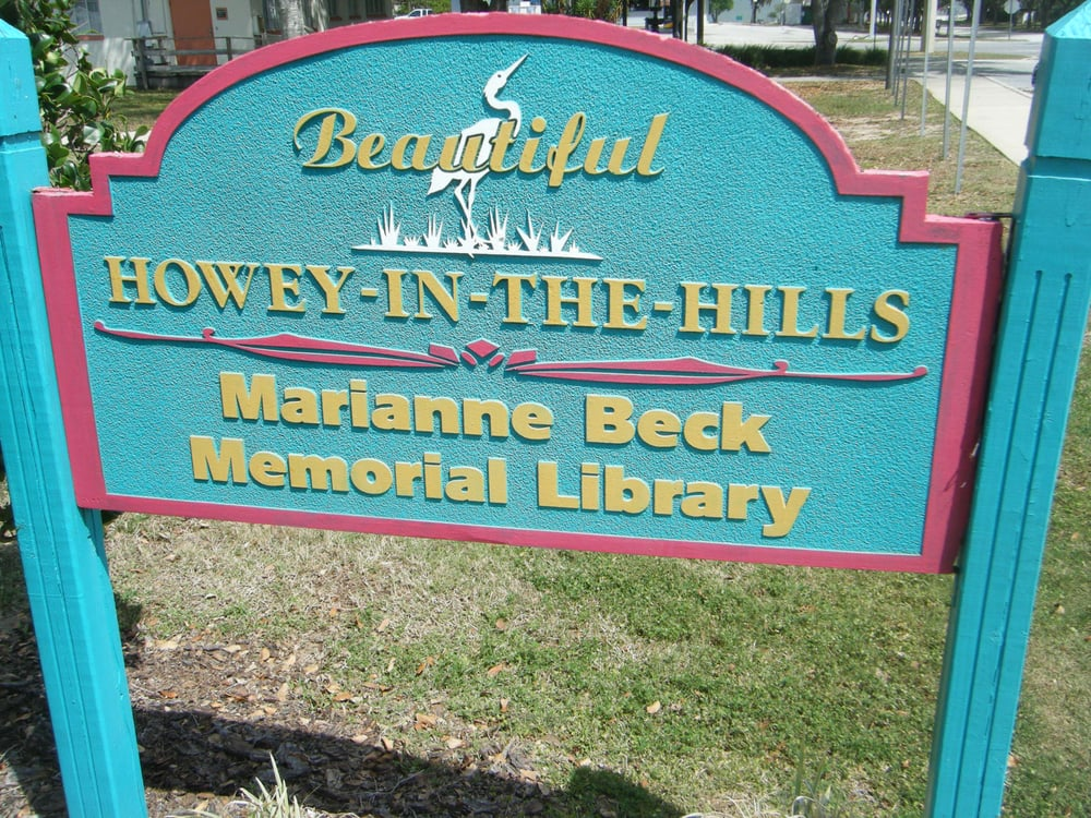 Town of Howey-In-the-Hills Library: 112 W Central Ave, Howey In the Hills, FL