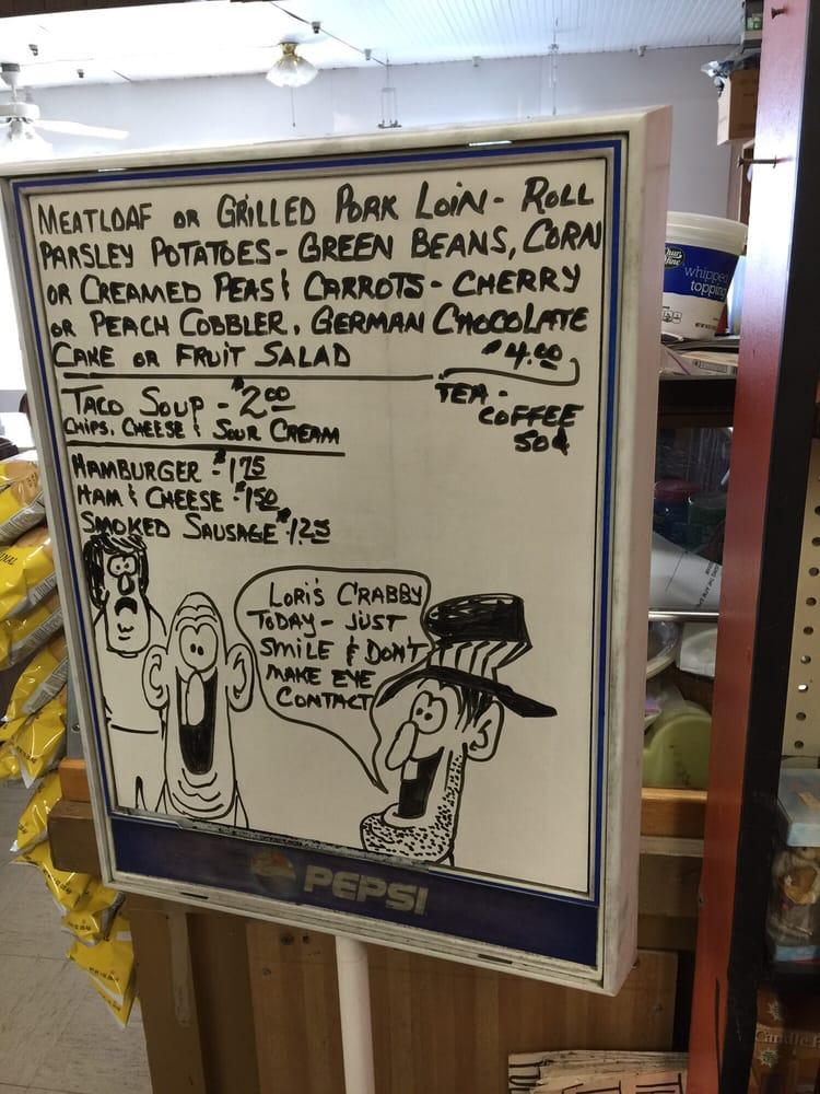 Ladow's Supermarket: 415 Main St, Lebanon, KS