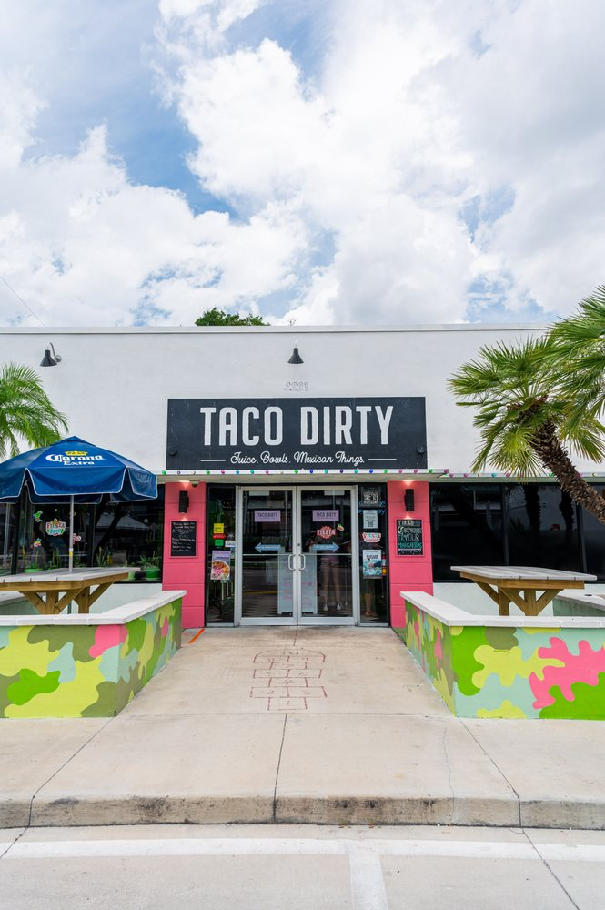 Food from Taco Dirty
