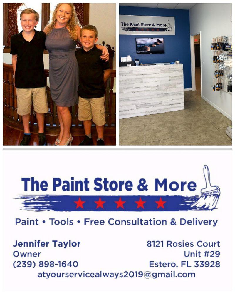 The Paint Store & More: 8121 Rosies Ct, Estero, FL