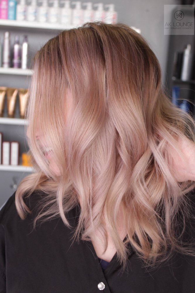 Naked hair color from the new Guy Tang Naked Collection