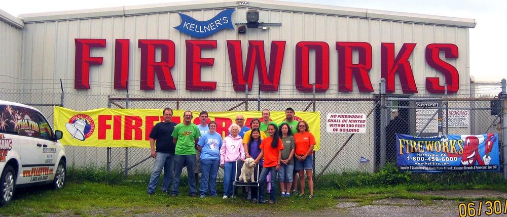 Kellner's Fireworks: 478 Old Rte 8, Harrisville, PA