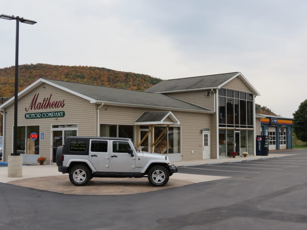 Matthews Motor Company: 1856 N Williamson Rd, Covington, PA