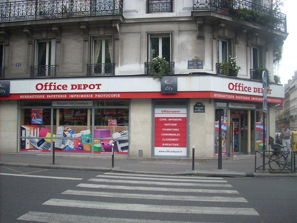 Office depot office equipment 25 boulevard des - Office depot boulevard des batignolles ...