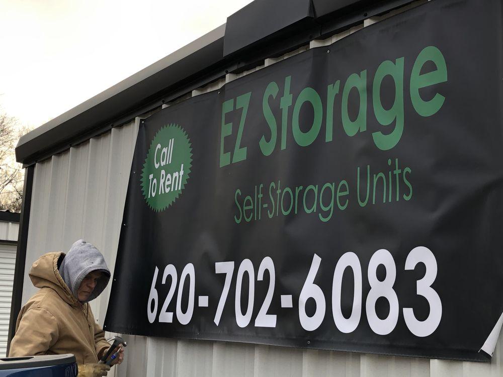 EZ Storage: 410 E 1st St, Cherryvale, KS