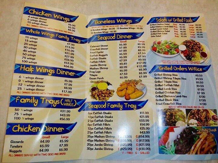 Oceans Fish & Chicken: 177 US-425, Monticello, AR