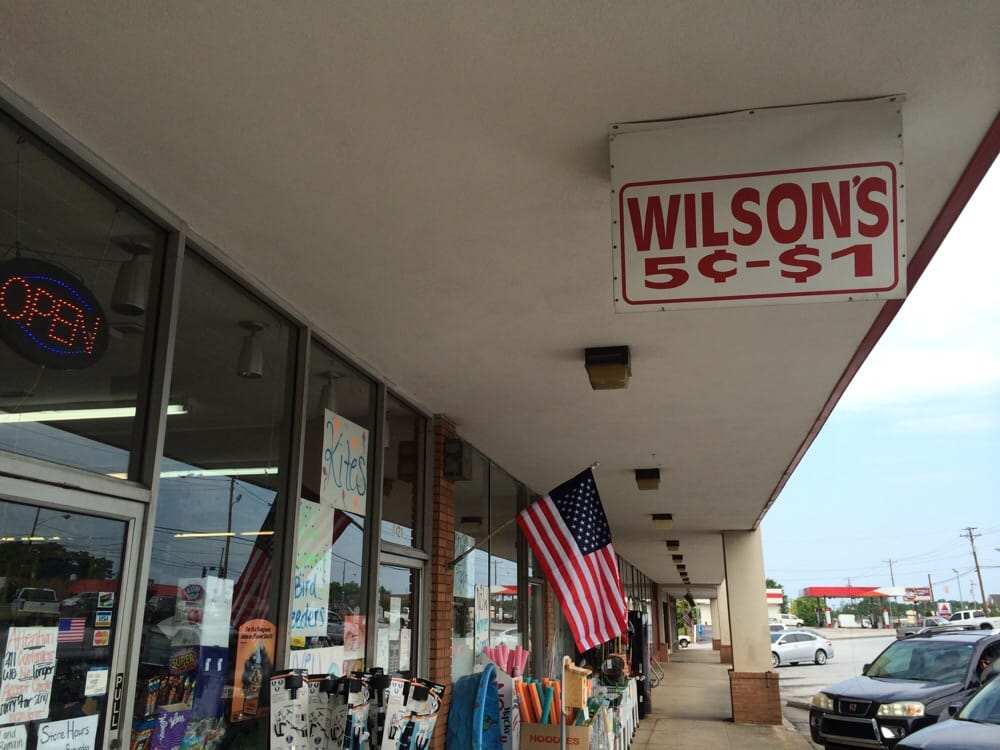 Wilson's 5 Cents To 1 00 Store: 1428 Laurens Rd, Greenville, SC