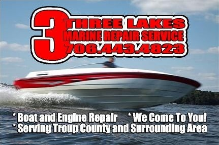 3 Lakes Marine Repair Service: 300 E Bacon St, Lagrange, GA