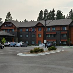 Photo Of Cedar Creek Lodge Columbia Falls Mt United States Tuesday Evening