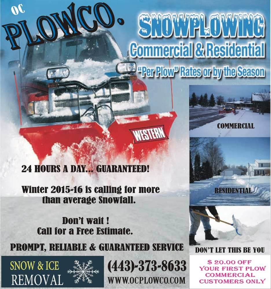 Snow Plowing Flyer Mersnoforum