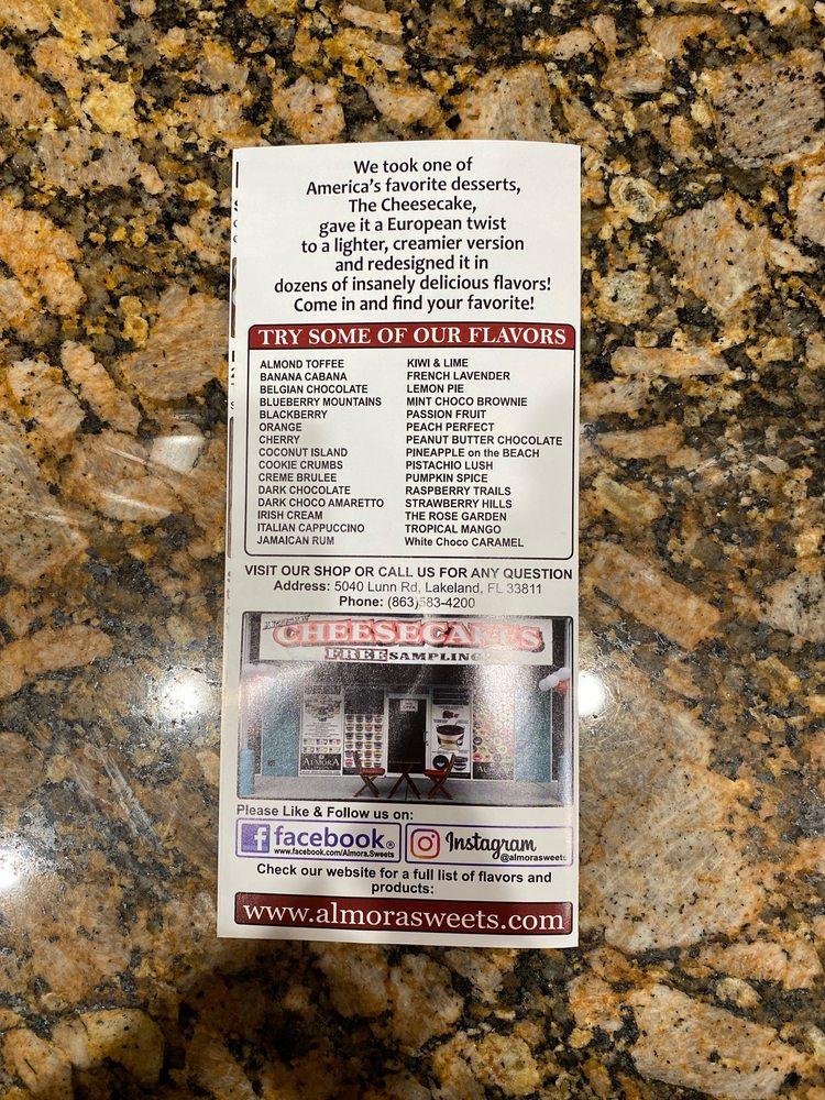 Almora Sweets: 5040 Lunn Rd, Lakeland, FL