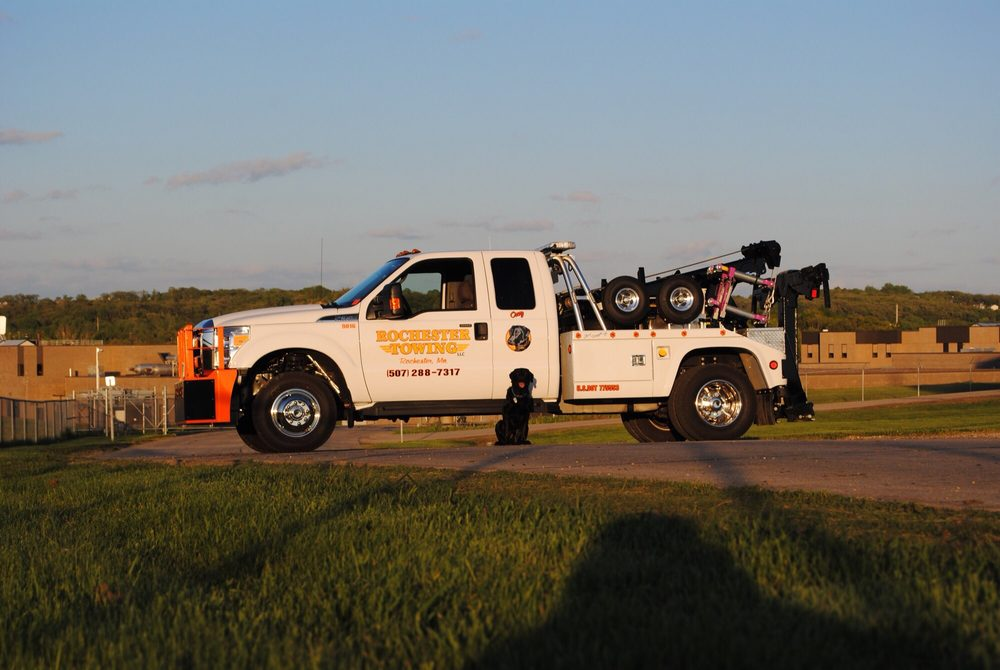 Towing business in Rochester, MN