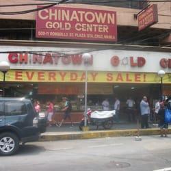 Chinatown Gold Center Jewelry 50911 Ronquillo Street Manila