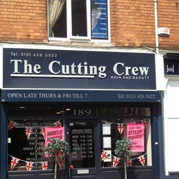 Cutting crew hair salons 374 high street birmingham for Hair salon birmingham