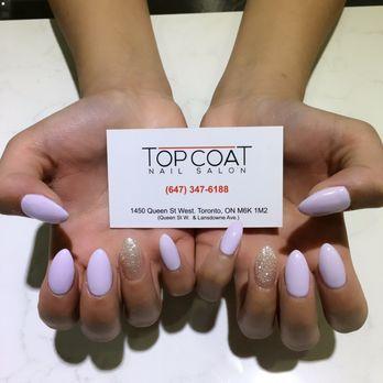 Photo Of Top Coat Nail Salon Toronto On Canada