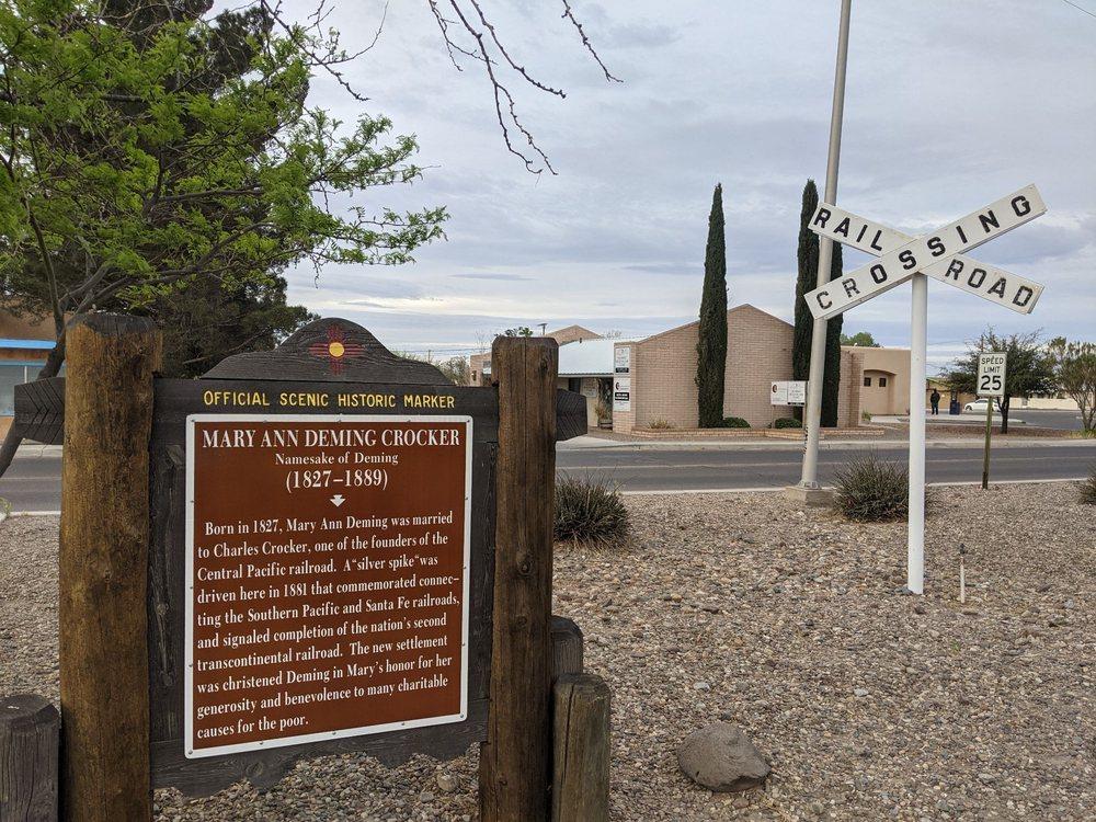 Deming Visitor Center: 800 E Pine St, Deming, NM