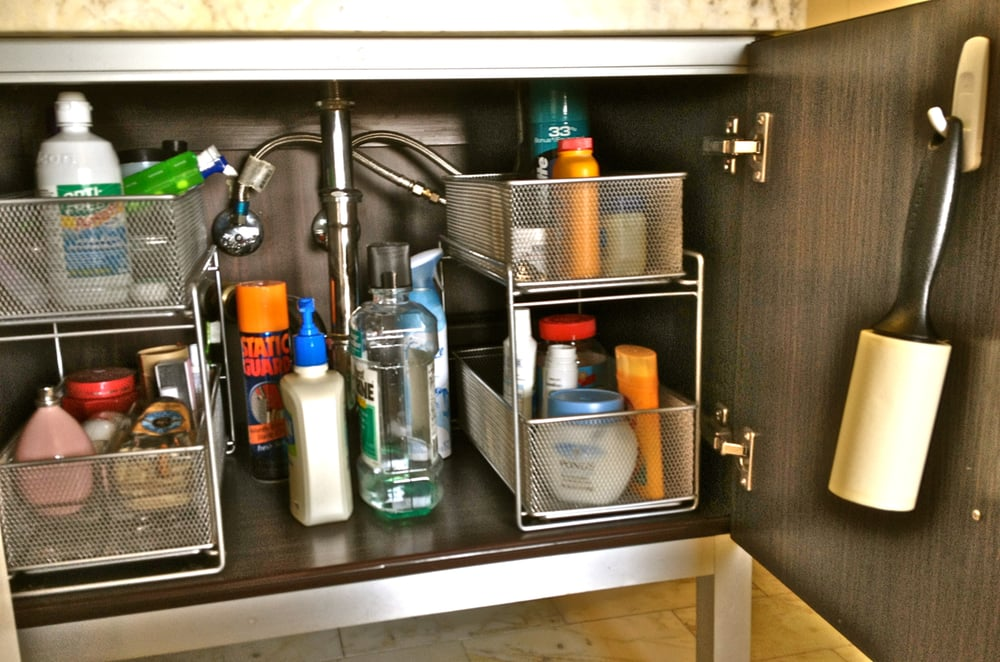 Organized Bathroom Cabinets Bathroom cabine...