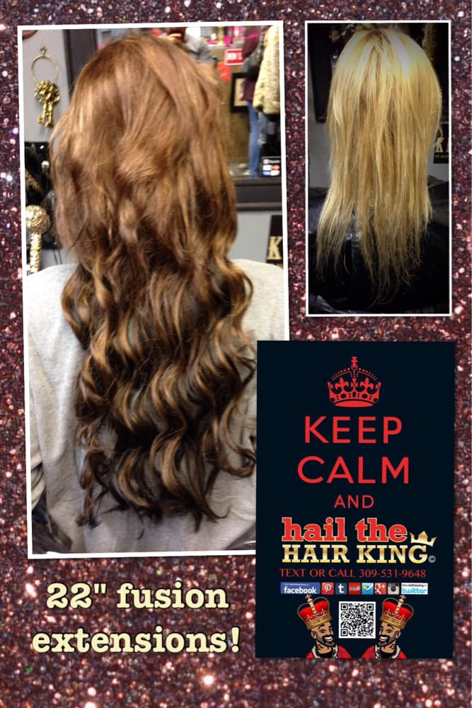 22 Fusion Extensions By Travis Manning Hail The Hair King In