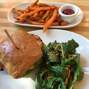 Photo Of LYFE Kitchen   Evanston, IL, United States. Chicken U0026 Avocado  Sandwich
