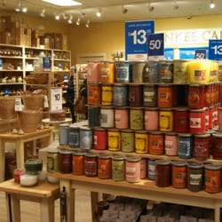 The Yankee Candle Village stores are like