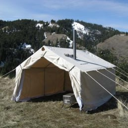 Photo of Western Wall Tents - Missoula MT United States. Magnum Tent & Western Wall Tents - Outdoor Gear - 2825 Stockyard Rd Missoula ...