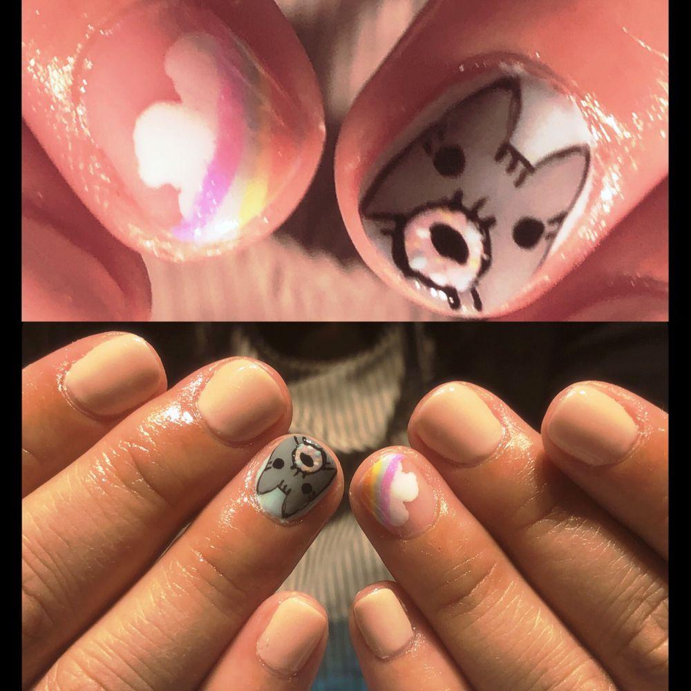 Gemini Nails and Makeup