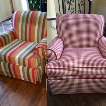 Photo Of Crown Upholstery   Marietta, GA, United States. Excellent Job  Reupholstering Our