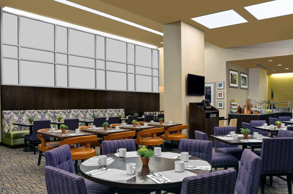 The garden grille is open daily for breakfast yelp - Hilton garden inn new york west 35th street ...