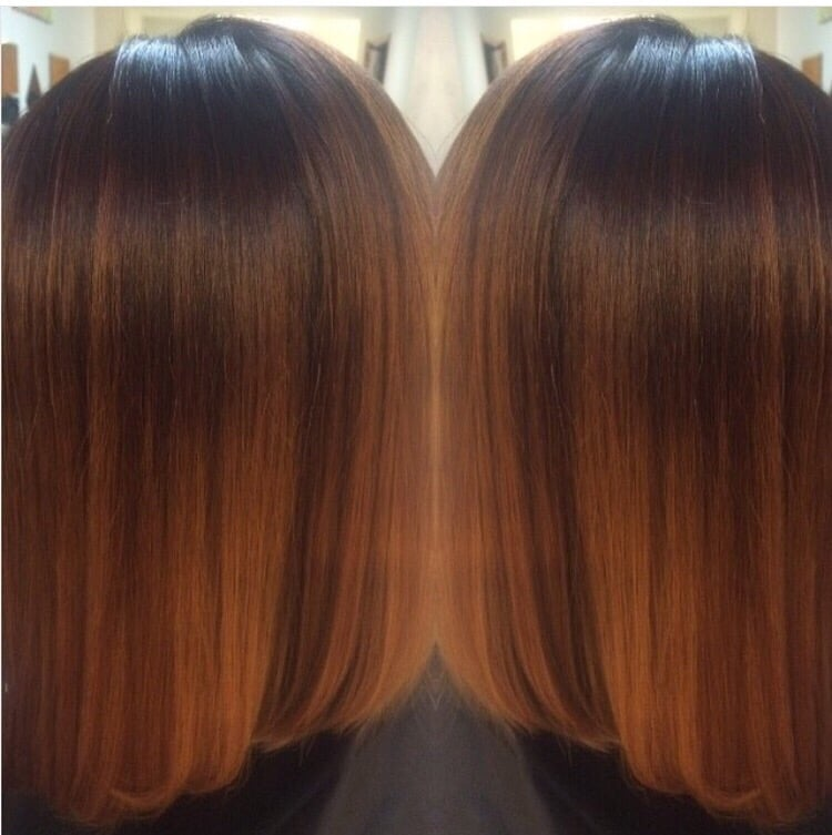 5 Lavish Projects By Studio Munge: Ivy Also Fixed My Ombré By Darkening My Roots For A More