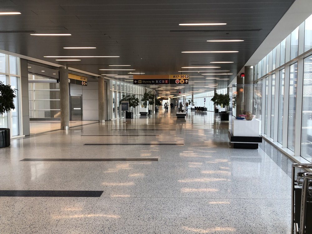 George Bush Intercontinental Airport - Terminal A: 2800 N Terminal Rd, Houston, TX