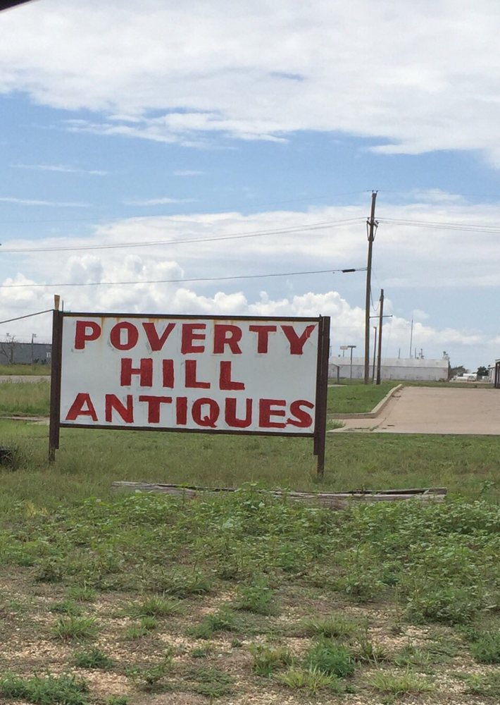 Poverty Hill Antiques: 343 Hwy 62-82, Lorenzo, TX