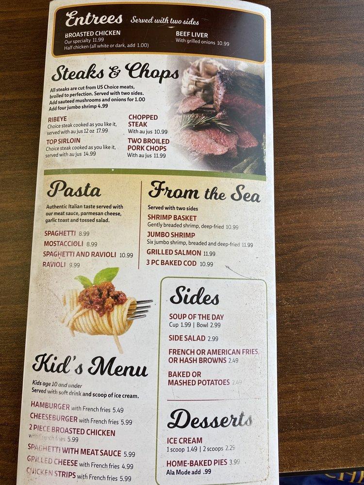 Jimmy's Diner: 104 W Leffler St, Dodgeville, WI