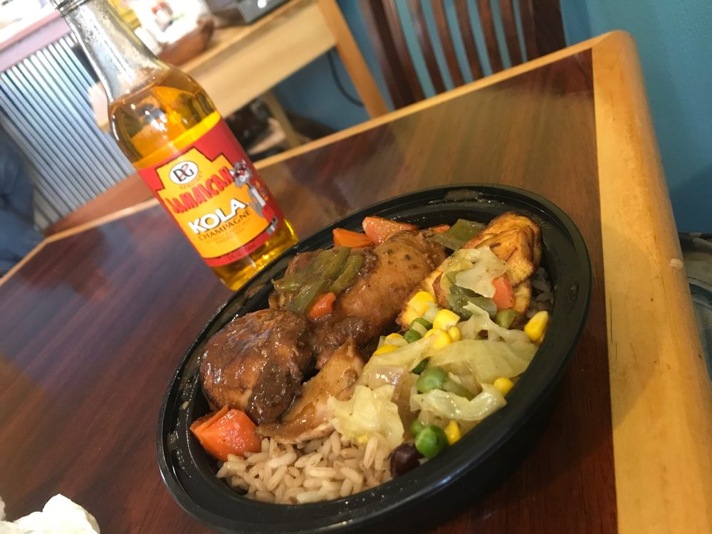 Sunshine Cookshop Jamaican Style Cooking: 37 Pleasant St, Claremont, NH
