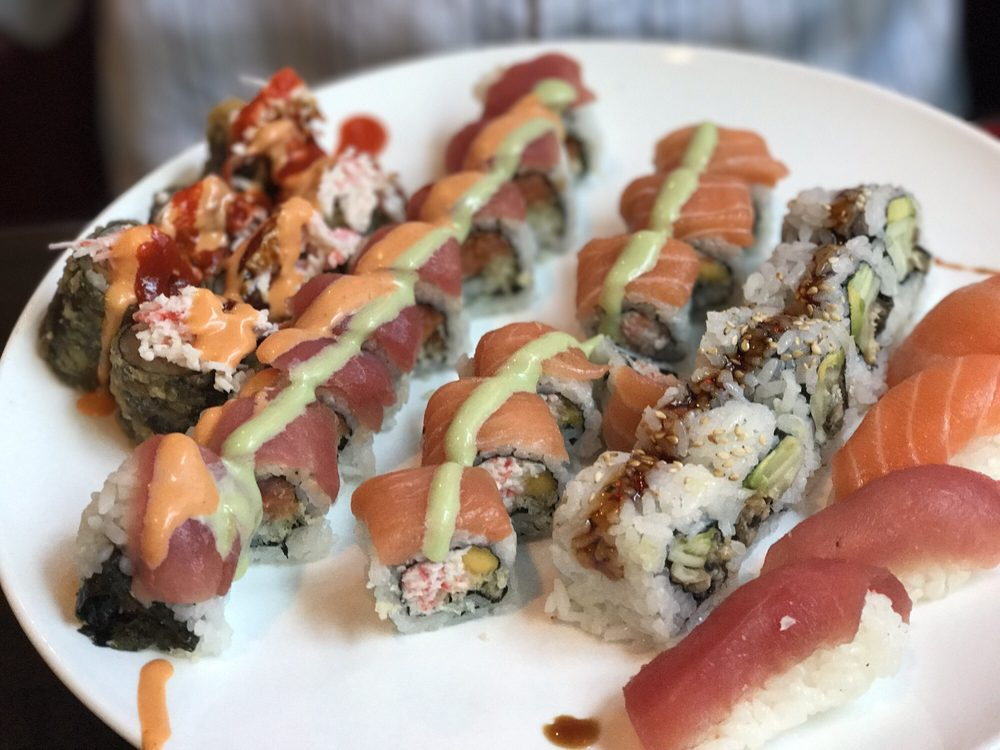Volcano Sushi & Asian Bistro: 339 W 21st St, Norfolk, VA