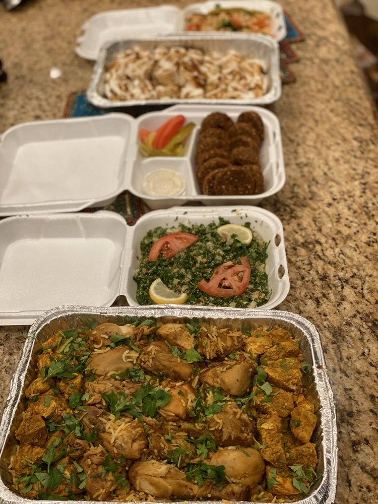 Food from Damascus Kitchen