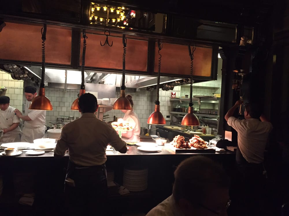 Photo of The Breslin Bar & Dining Room - New York, NY, United States. Fried chicken feast