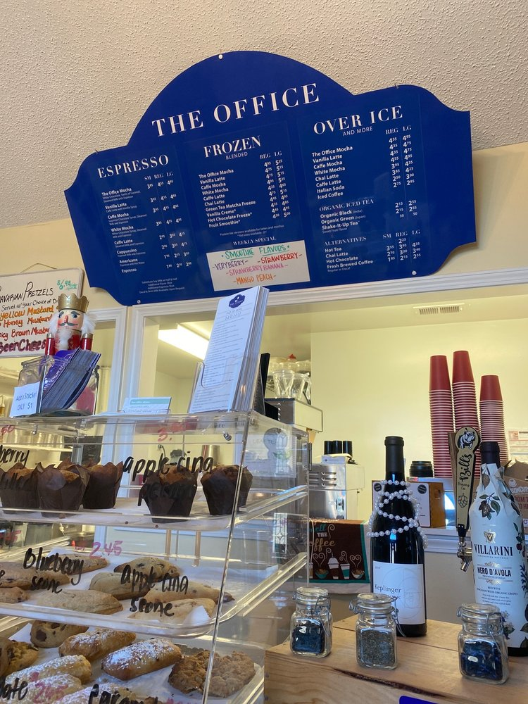 The Office Coffee & Wine Bar: 3280 George II Hwy, Southport, NC