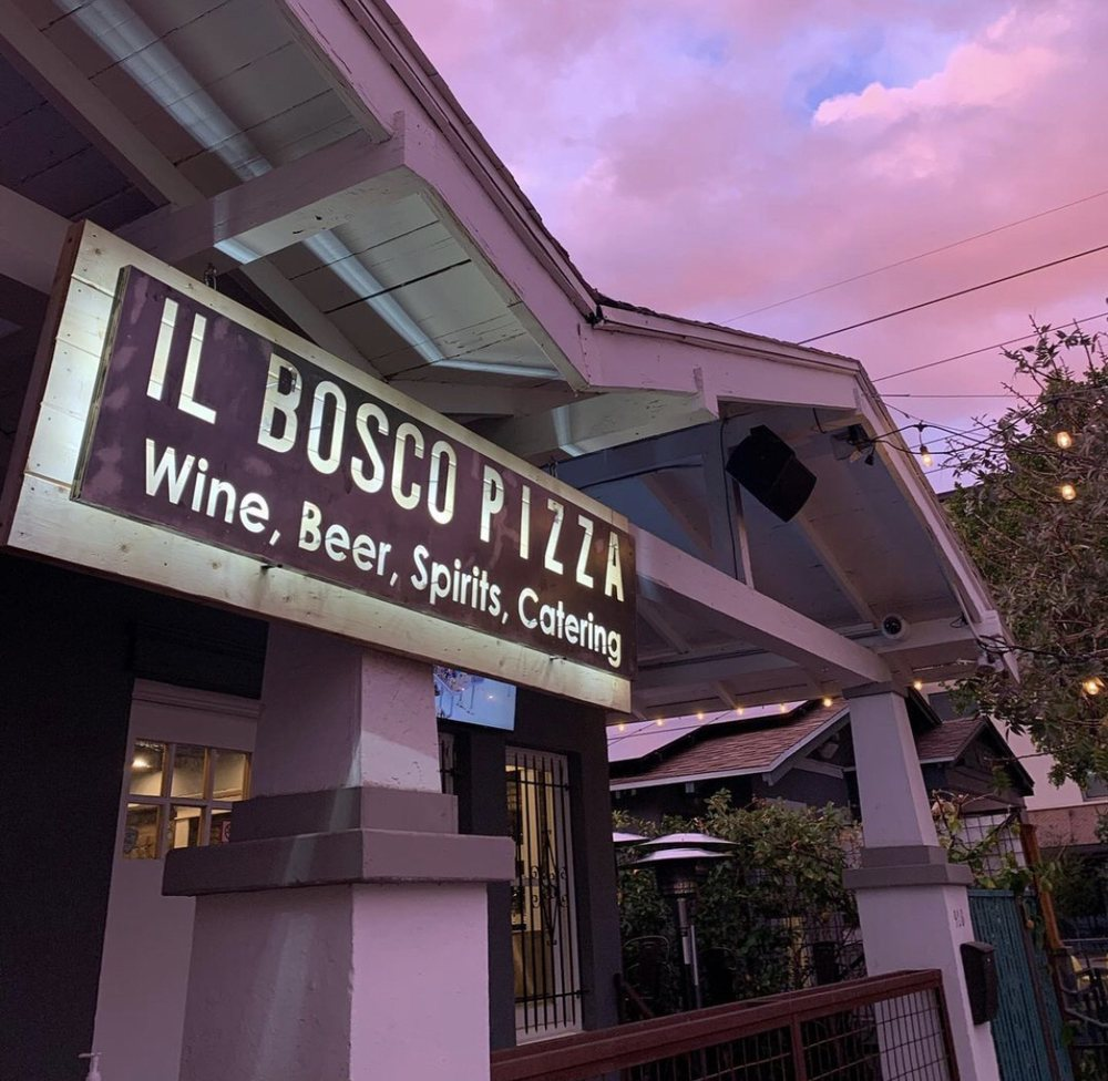 Food from IL Bosco Pizza