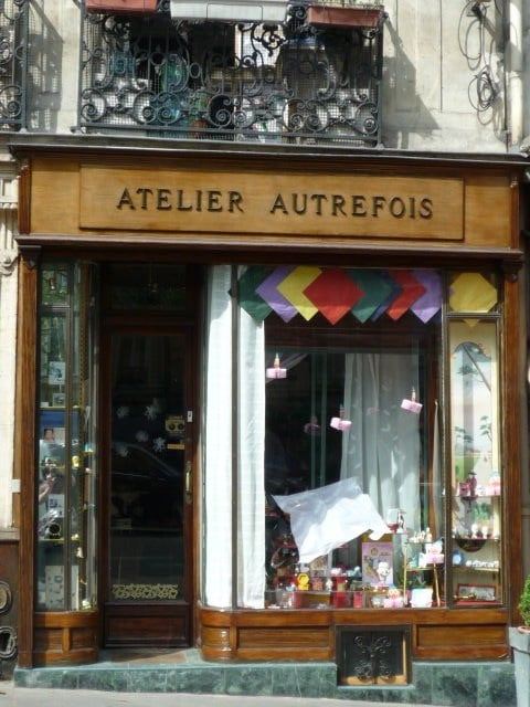 Atelier autrefois home decor 61 bld beaumarchais for Autrefois decoration