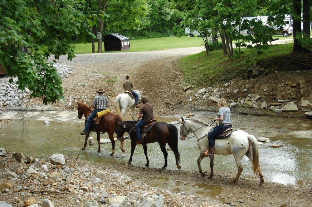Midwest Trail Ride: 1264 Hunter's Creek Rd, Norman, IN