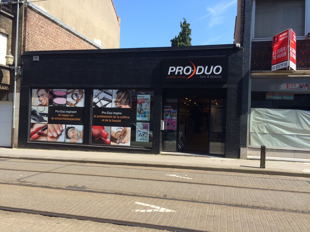 pro duo cosmetics beauty supply rue l on th odore 27a miroir jette r gion de bruxelles. Black Bedroom Furniture Sets. Home Design Ideas