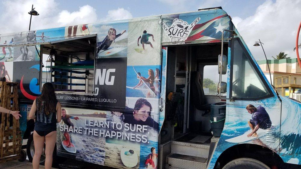 Surfing Puerto Rico: Calle Herminio Diaz Navarro S/N, Luquillo, PR