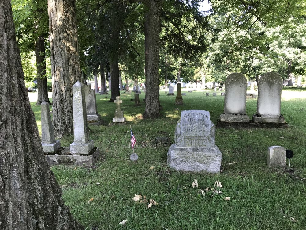 Photo of Centreville Historic Cemetery: Centreville, MI