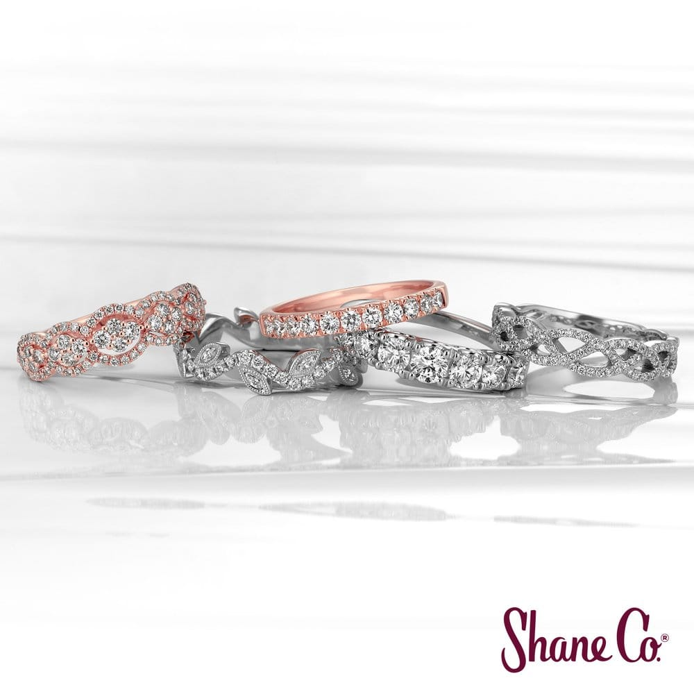 Shane Co Has Stunning Wedding Bands To Match Every Style Of Engagement Ring