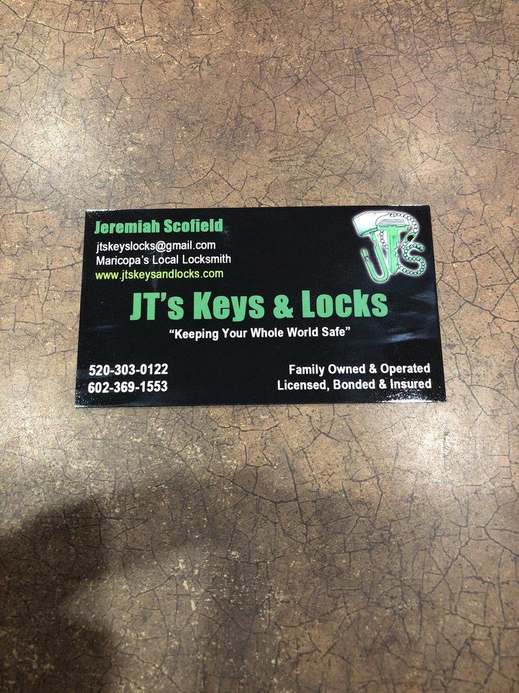 JT's Key & Locks: Maricopa, AZ